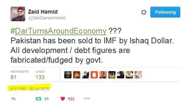 Economic terrorism zaid hamid
