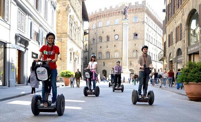 Segway em Florença