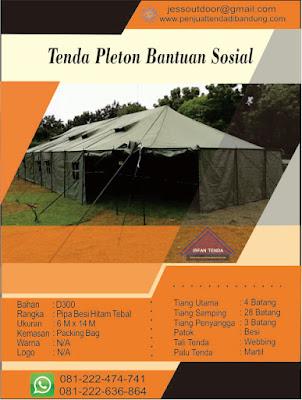 Harga Tenda Pleton Darurat Bencana