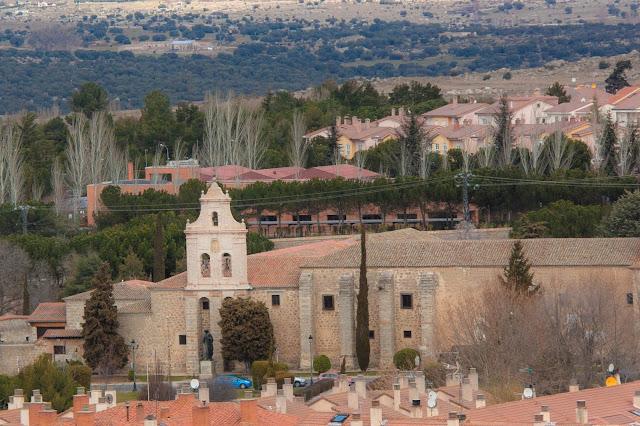 Convento de San Jose, em Ávila, na Espanha.