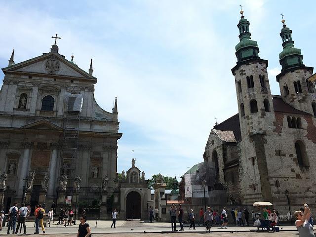 Cracovia fotos jesuítas y San Andrés