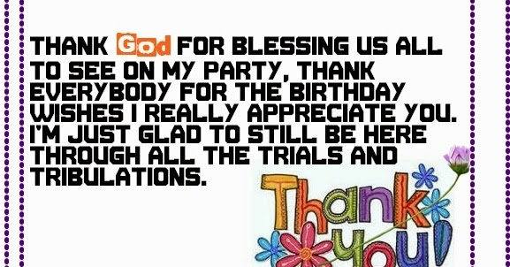 Say thank you birthday wishes happy birthday wishes m4hsunfo