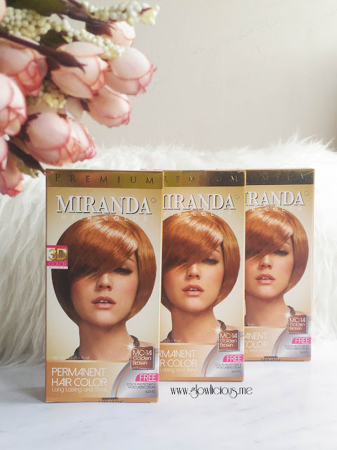 Miranda Hair Color Premium 3D in Golden Brown