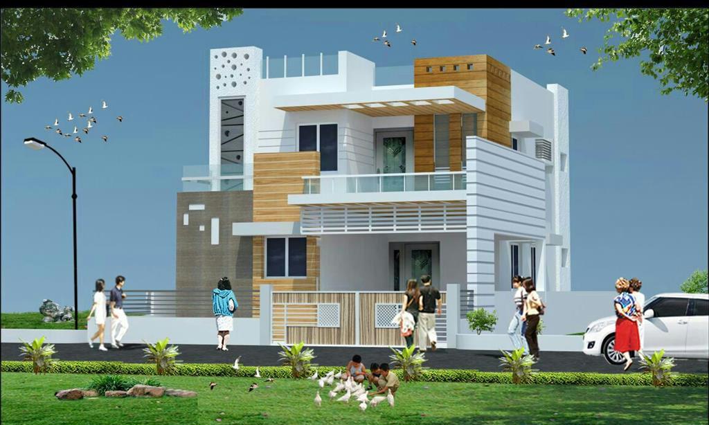 home elevation designs. 3D Front Elevation Design  Indian Kerala Style Exterior Designs Pinterest elevation designs