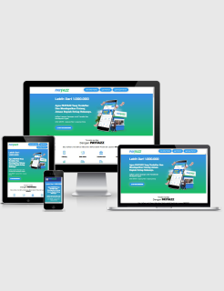 Blogspot Landing Page Payfazz