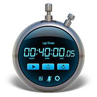 Yuvarlak dijital kronometre