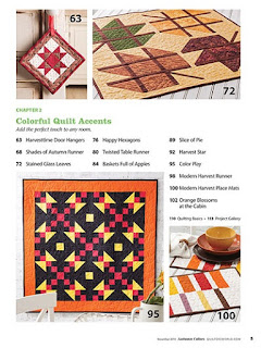 Creative Fall Quilt patterns
