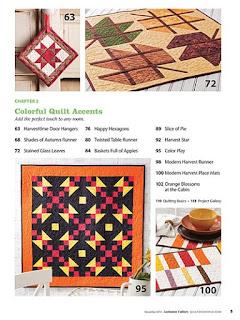 Creative Fall Quilt patterns