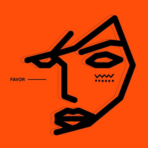 Vindata, Skrillex & NSTASIA - Favor - Single Cover