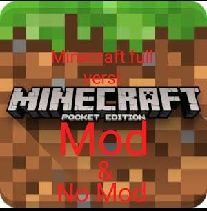Download minecraft pe full versi mod