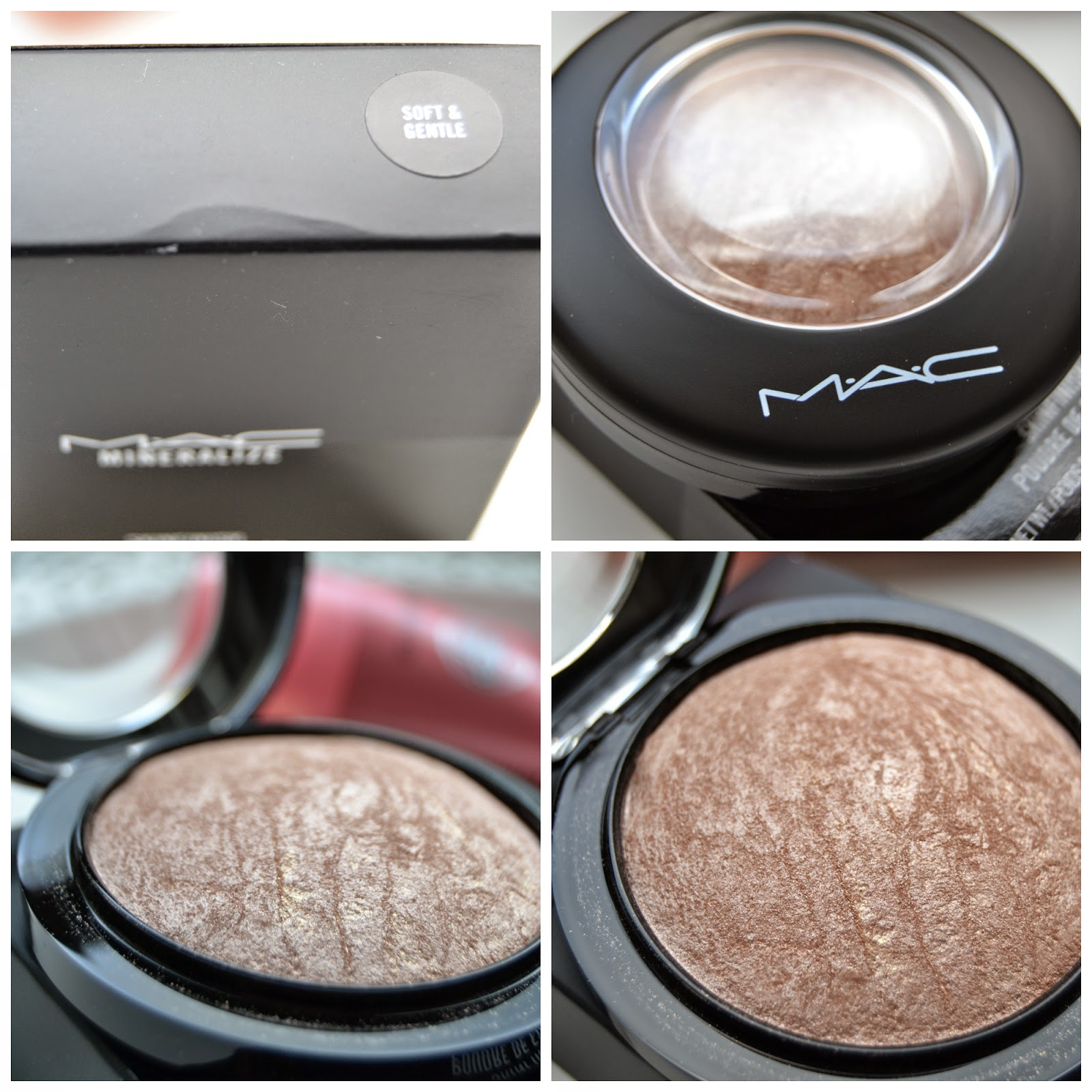 Mac Mineralize Highlighter Soft & Gentle Swatch