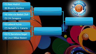 BALONCESTO-Playoffs liga Endesa 2013