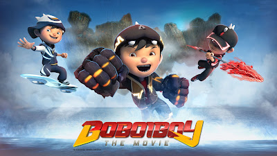 Poster Boboiboy The Movie Wallpaper