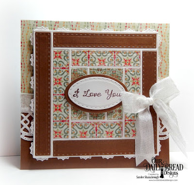 Our Daily Bread Designs Stamp Set: All Mothers, Our Daily Bread Designs Custom Dies: Log Cabin Quilt, Layered Lacey Squares, Beautiful Borders, Ovals, Stitched Ovals, Our Daily Bread Desigsn Paper Collection: Cozy Quitl