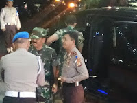 Malam Natal, Kapolri dan Panglima TNI cek sejumlah gereja di DKI