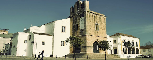 Sé de Faro no Algarve