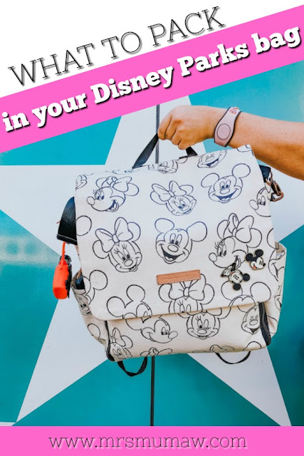 disney world tips, disney world bag, disney bag, petunia pickle bottom mickey
