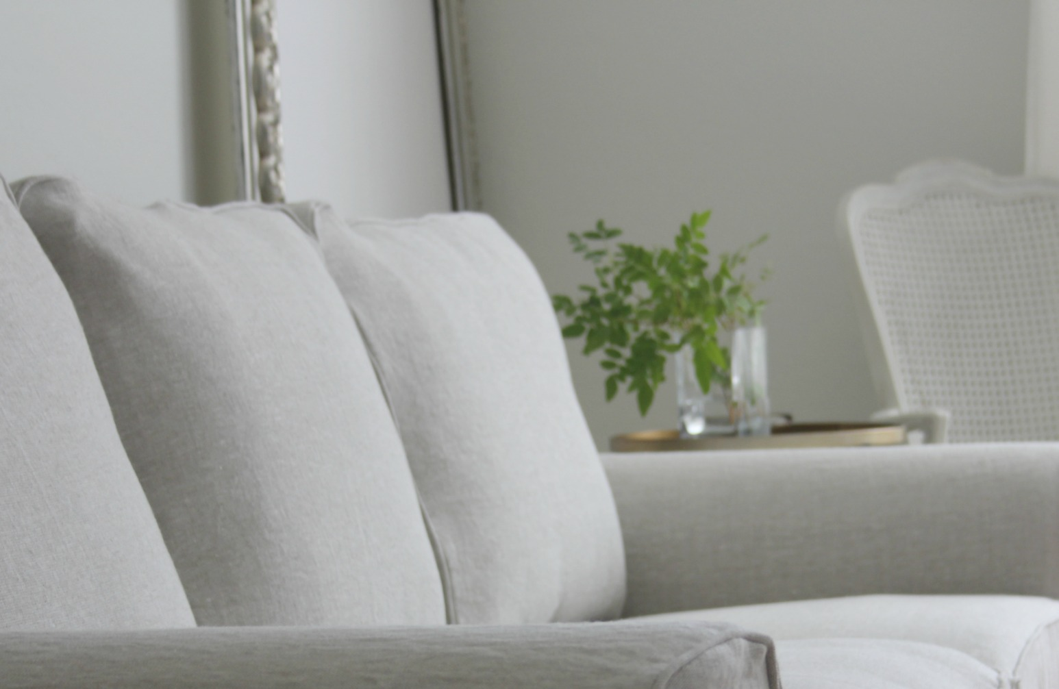 linen slipcover sofas upholstery fabric ideas for my ektorp get a luxurious ikea hack from bemz