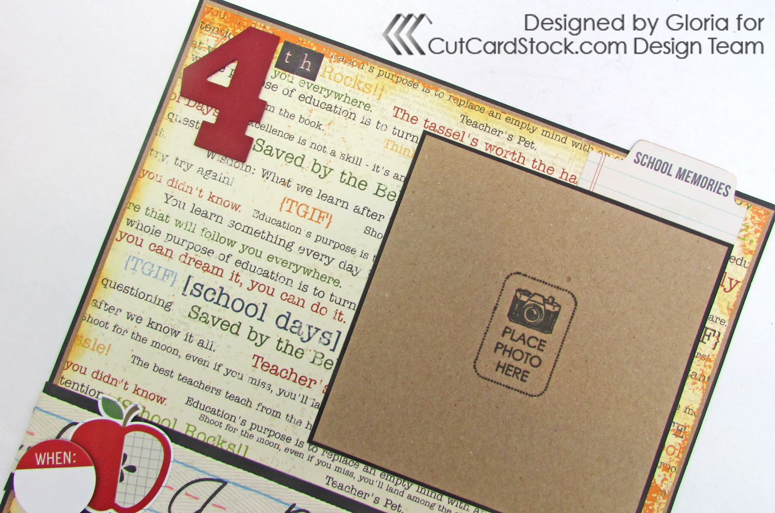 Trim Brown Bag Kraft Cardstock To 7 8 X And Attach The Black Base Panel Printed Paper 3 4 Layout