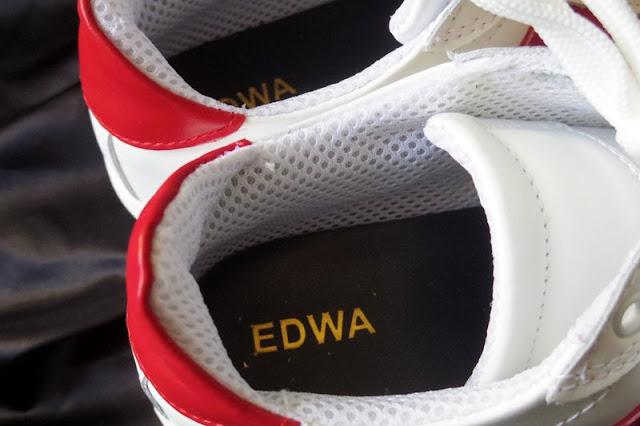 EDWA レザー スニーカー