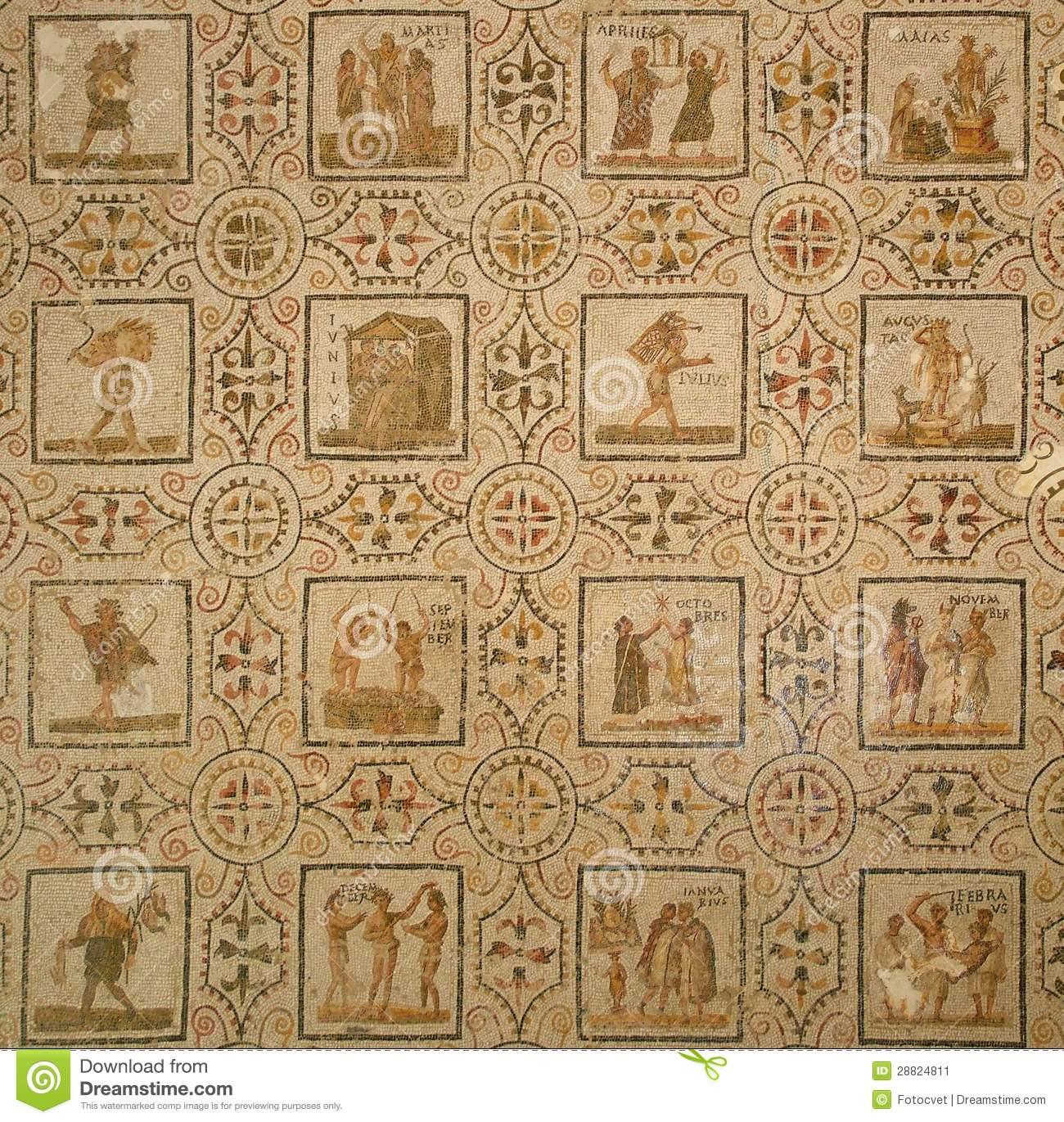 Calendario Romano.Los Meses Del Ano En El Calendario Romano Arqueologia En Mi Jardin
