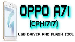 Oppo A71 (CPH1717) Preloader Driver