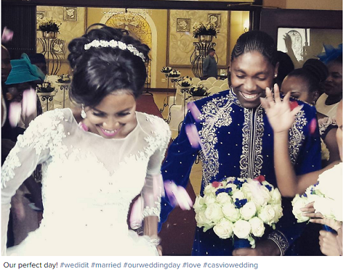 CA South African 800m Athlete Caster Semenya Ties The Knot With Another Female (Photos) Life style news