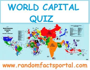 Genius of Geography (World Capital Quiz)