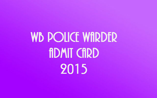 WB-Police-Warder-Admit-Card-2015