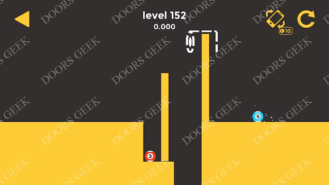Ball & Ball Level 152 Solution, Walkthrough, Cheats for android and ios