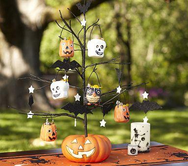 Kiki Creates Pottery Barn Knock Off Halloween Tree Tutorial