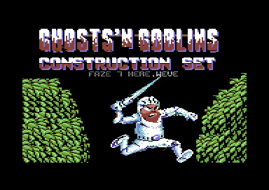 Ghost´n Goblins Construction Set