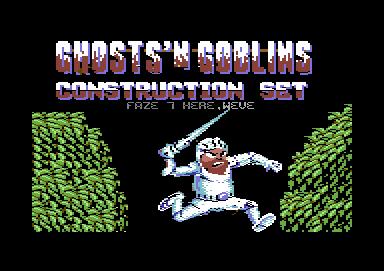 Ghost´n Goblins Construction Set
