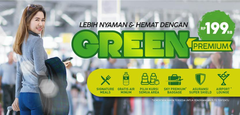 Citilink - Promo Lebih Nyaman dan Hemat dengan Green Premium