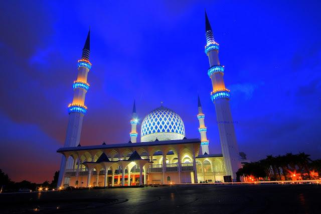 Masjid Biru dekat dengan Hotel Concorde