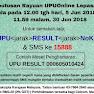Semakan Keputusan Rayuan UPU ke UA/IPTA Sesi 2018/2019