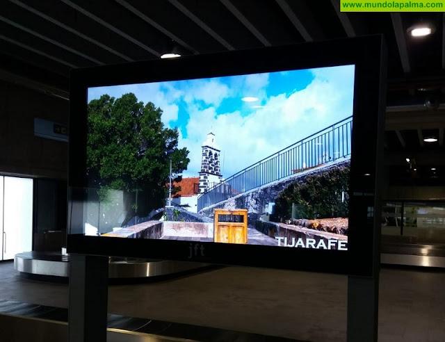 Tijarafe se promociona en el Aeropuerto de La Palma