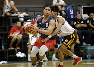 Kiefer RAvena PBA Rookie draft combine