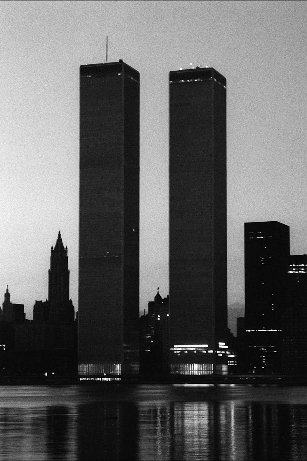 The World Trade Center.