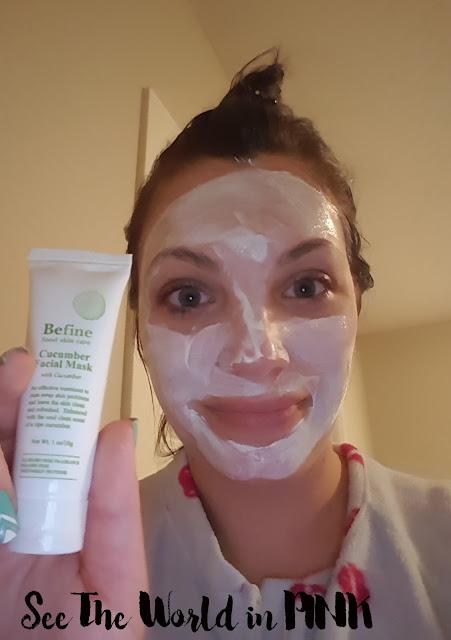 be fine cucumber facial mask