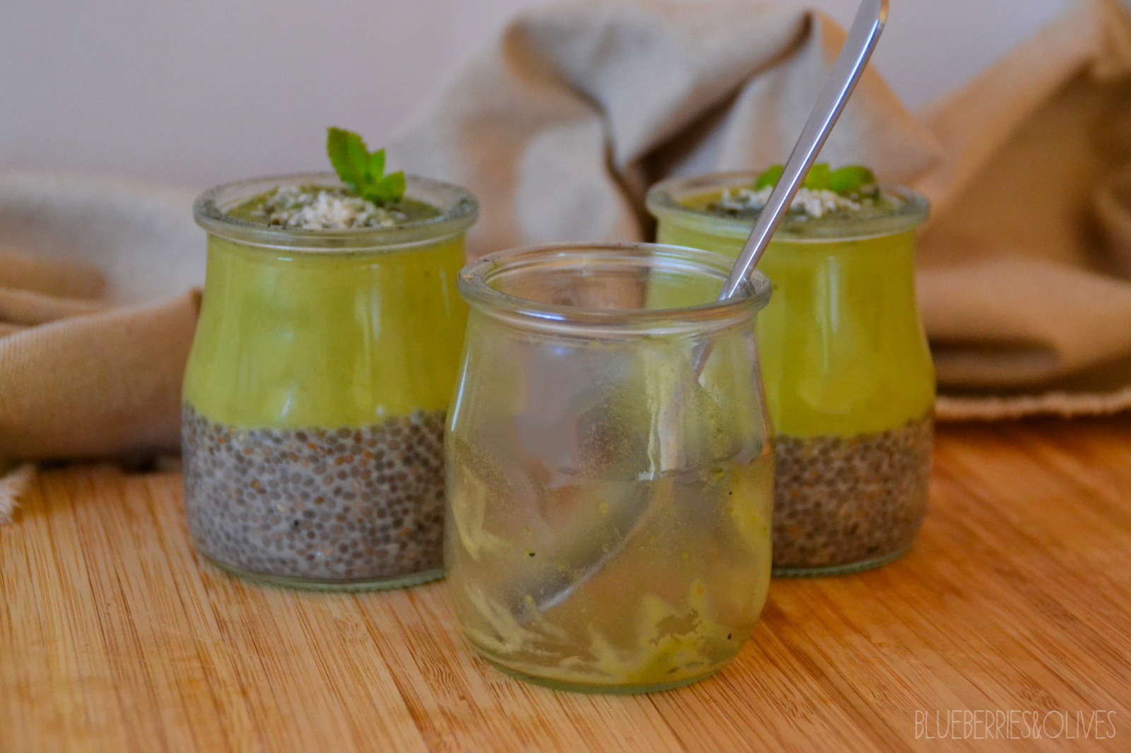 CHIA AND AVOCADO PUDDING