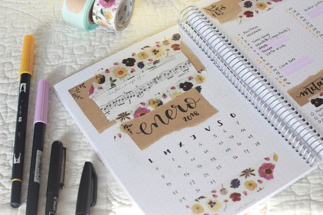 Bullet Journal: la importancia del planner mensual