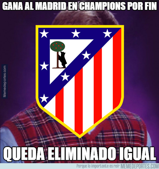 Atlético Bad Luck!
