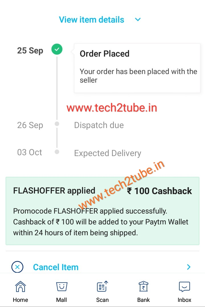 Paytm FLASHOFFER Loot proved