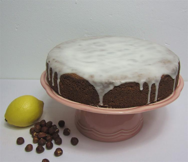 Haselnuss-Zitronen-Kuchen