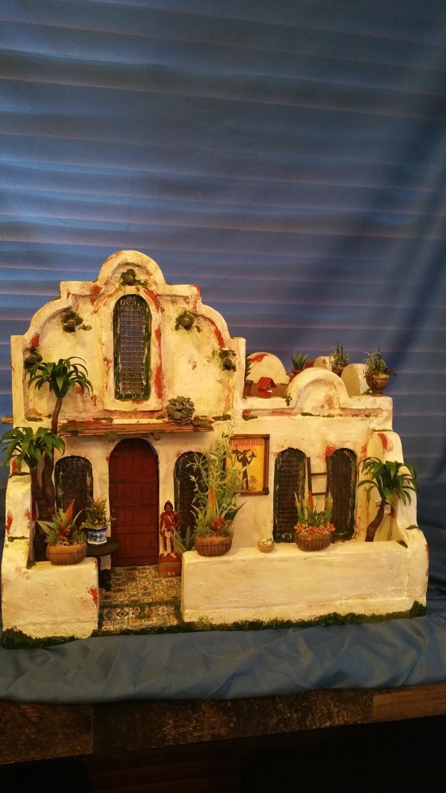 Greggs Miniature Imaginations Adobe Mexican Restaurant