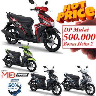 Harga Kredit Motor Yamaha Mio M3 125 Blue Core Dp murah proses cepat dan syarat mudah