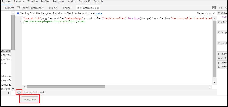 How to debug minified JavaScript - Tech Tutorials