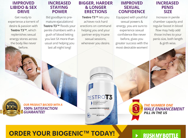 Testro T3 Review: Male Enhancement, Read Benefits| Buy Free Trial in UK