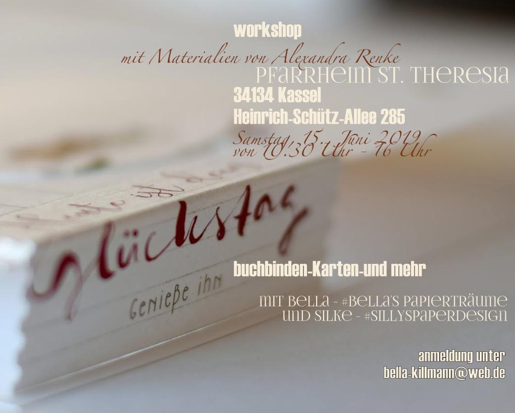 Workshop mit Bella + Silke
